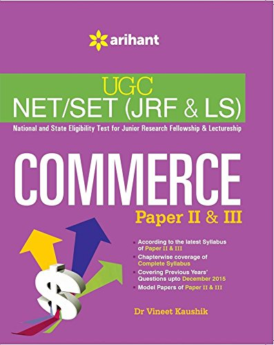 UGC NET/SET (JRF & LS) COMMERCE Paper II & III