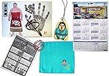 【相撲グッズ】平成27年大相撲カレンダー1枚 逸ノ城 豆力士ストラップ(黄色) ミニタオル(青)  姿絵手形色紙 番付表(最新版) Sumo Goods