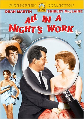 "Cover of ""All In A Night's Work"""