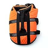 Pet Lifte Preserver - All Sizes - Dog Life Vest Jacket Doggy Life Jacket Orange Large