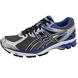 ASICS Men's GT-1000 3 4E Running Shoe,Lightning/Black/Royal,10.5 4E