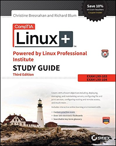 1119021219 – CompTIA Linux+ Powered by Linux Professional Institute Study Guide: Exam LX0-103 and Exam LX0-104 (Comptia Linux + Study Guide)