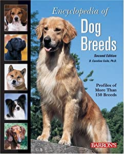 """Cover of """"Encyclopedia of Dog Breeds"""""""