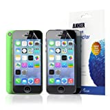 Anker® iPhone 5S /iPhone 5C / iPhone 5 [3-Pack] Xtreme Scratch Defender Ultra-Clear High-Response Premium Screen Protector Lifetime Warranty