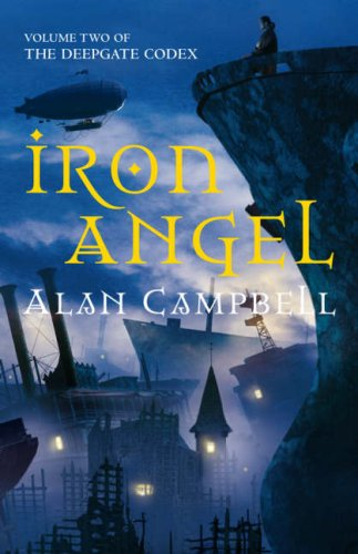 Iron Angel, by Alan Campbell (UK cover)