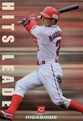 カルビー2010 プロ野球チップス HITSLEADERカード No.HL-05 東出輝裕