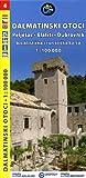 Kroatien - Dalmatinischen Inseln #4 Peljesac, Elafiti, Dubrovnik - Radkarte & Wanderkarte 1:100.000