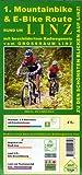 1. Mountainbike & E-Bike Route rund um Linz: mit beschildertem Radwegenetz vom Großraum Linz
