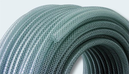 PVC-Gewebe Druckluftschlauch Druckschlauch 15bar 50m 0,66/m