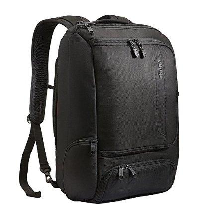 eBags-Professional-Slim-Laptop-Backpack-Solid-Black