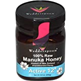 Wedderspoon Raw Manuka Honey Active 12+, 8.8-Ounce Jar