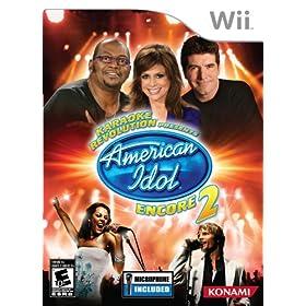 Presents American Idol Encore 2 w/Microphone