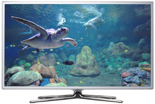 Samsung UE46ES6710 117 cm (46 Zoll) 3D-LED-Backlight-Fernseher, Energieeffizienzklasse A (Full-HD, 400Hz CMR, DVB-T/C/S2) weiß