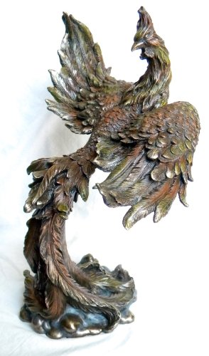 Rising Statue Bird Phoenix