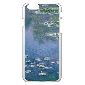 iPhone6/6s 4.7インチ ケース カバー 西洋名画 クロード・モネ 睡蓮/クリア