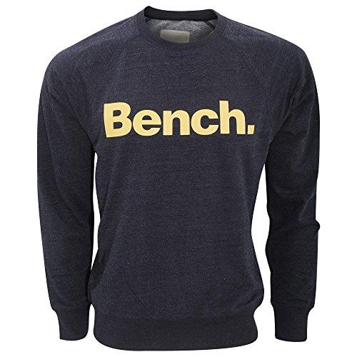 Bench Herren Introvert Sweatshirt mit Rundhalsausschnitt, langärmlig