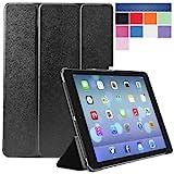i-Blason Apple iPad Air Case (5th Generation) i-Folio Smart Cover Smart Case [Life Time Warranty] - Black