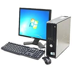【Windows7搭載】リライズオリジナル 【メーカー問わず】中古デスクトップパソコン 17インチ液晶付き (各色)