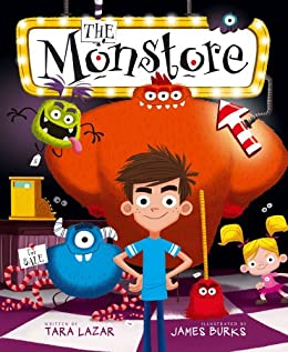Review - The Monstore by Tara Lazar