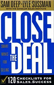 "Cover of ""Close the Deal: 120 Checklists ..."