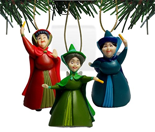 Disney's Sleeping Beauty 'Flora, Fauna & Merryweather' Set of 3