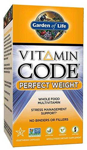 Garden of Life Vitamin Code Perfect Weight Multi, 120 Capsules