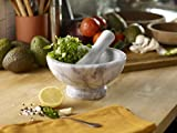 Fox Run Large Marble Mortar N Pestle