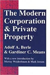 "Cover of ""The Modern Corporation and Priv..."