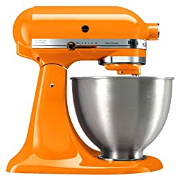Tangerine Kitchenaid Stand Mixer