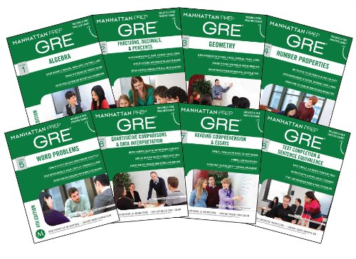 1937707911 - Manhattan Prep GRE Set of 8 Strategy Guides (Manhattan Prep GRE Strategy Guides)