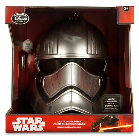 The Force Awakens Captain Phasma Voice Changing Mask