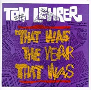 "Cover of ""That Was the Year That Was"""