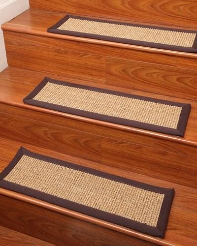 Casual Living Carpet Stair Treads 100 Sisal 9 X 29 Set Of 4 | Sisal Carpet Stair Treads | Oak Valley | Skid Sisal | Stair Runner | Fiber Sisal | Landing Mat
