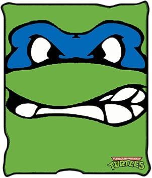 Teenage Mutant Ninja Turtles Leonardo Micro-Plush Throw Blanket