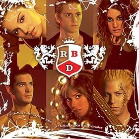 RBD 2008 Calendar - Music 2008 Calendars