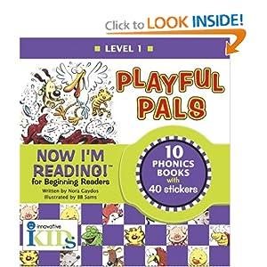 Now I'm Reading! Playful Pals, Level 1