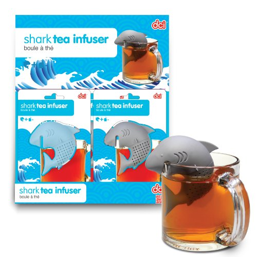 DCI Shark Tea Infuser, Colors May Vary