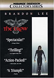 """Cover of """"The Crow (Miramax/Dimension Col..."""
