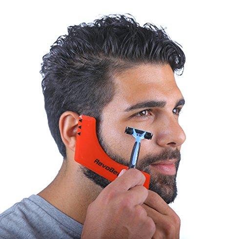 Pleasing Revobeard Beard Styling Template Stencil For Men Lightweight And Short Hairstyles Gunalazisus