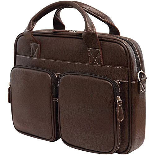 MobileEdge 14.1/15-Inch Tech Brief Case for Mac, Brown (MEBCT8)