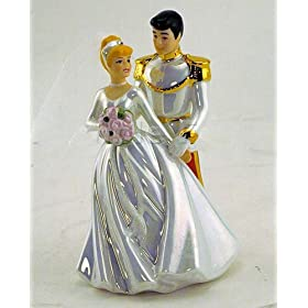 Disney Cinderella Wedding Figurine
