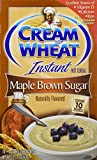 Cream of Wheat Maple Brown Sugar Instant Hot Cereal, 10 (1.23 Ounce per pack)  (pack of 3)
