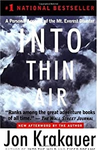 "Cover of ""Into Thin Air: A Personal Accou..."