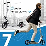oxelo(オクセロ) TOWN 7 EASYFOLD KICK SCOOTER SILVER 8239006-1601181