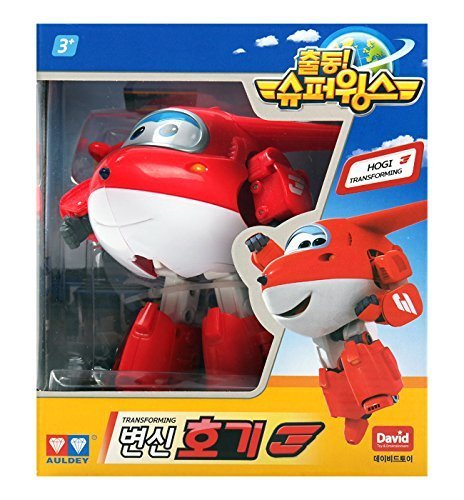 Hogi – Auldey Super Wings Transforming planes series animation Ship from Korea