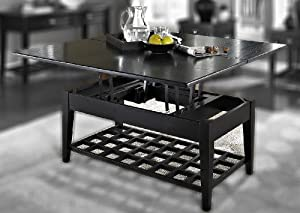 cheap element collection dual lift top cocktail table by somerton dwelling coffee tables glass table top square 3213