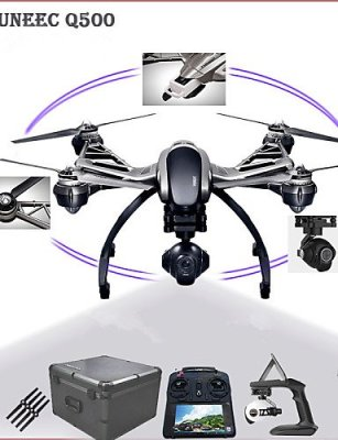 ANDP-Yuneec-Typhoon-Q500-58-GHz-4-axis-4K-Camera-Drone-Double-Batteries-Complete-with-Gimbal-Camera-and-Hand-held-Gimbal-black-eu-adapter