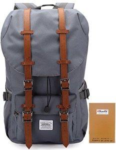 Kaukko-Classic-Multipurpose-Backpack-of-2-Side-Pockets-School-Book-Bag-Casual-Travel-Daypack