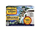 The Organic Coffee Co. OneCup, Decaf Gorilla, 12 Single Serve Coffees