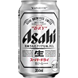 アサヒ スーパードライ 350ml缶×24本